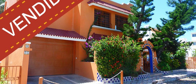 Casa para vacaciones frente a la playa – 2 recamaras